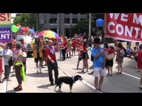 Kshama Sawant Supporters- Seattle Pride March!