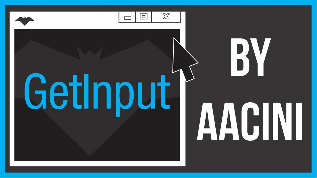 [Batch Plugin] Get Mouse and Keyboard Input Using GetInput - By Aacini |  www thebateam org