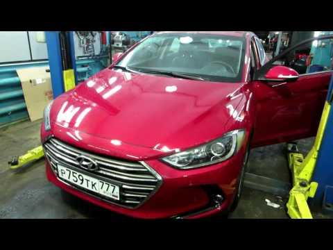Hyundai Elantra 6 го поколения тестирует Сергей Асланян