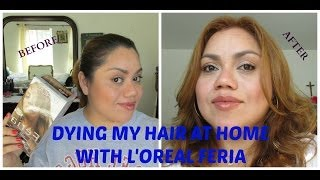 Dying My Hair at Home with L'oreal Feria Hair Color Thumbnail