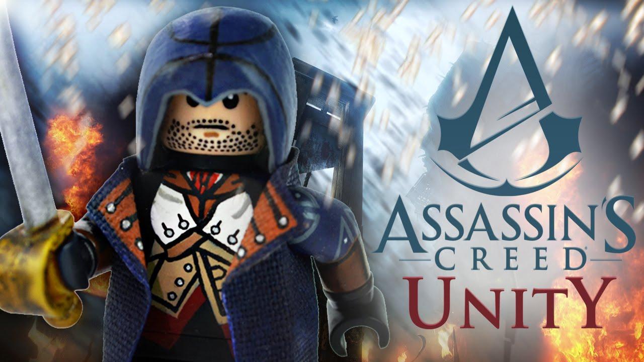 Lego Assassin S Creed Unity Arno Dorian Showcase Youtube