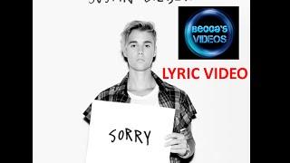 Justin Beiber- Sorry Lyrics (EMOJI SPECIAL)