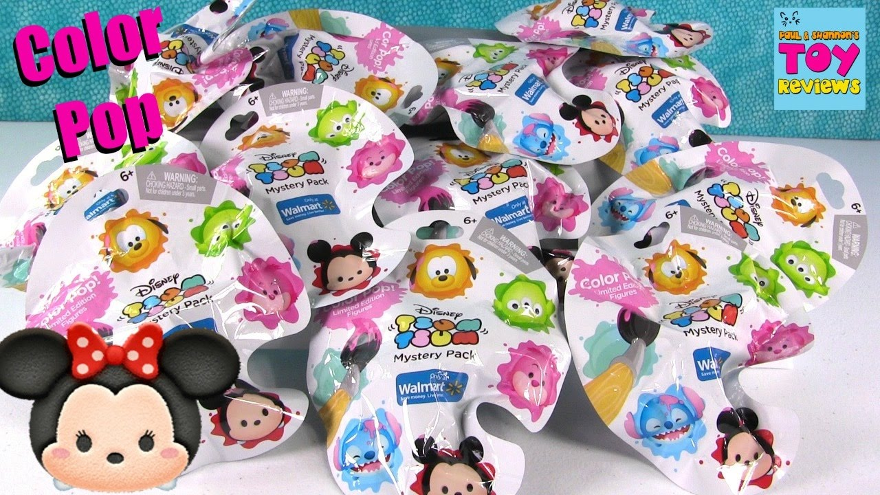 Disney Tsum Tsum Color Pop Blind Bags Walmart Exclusive