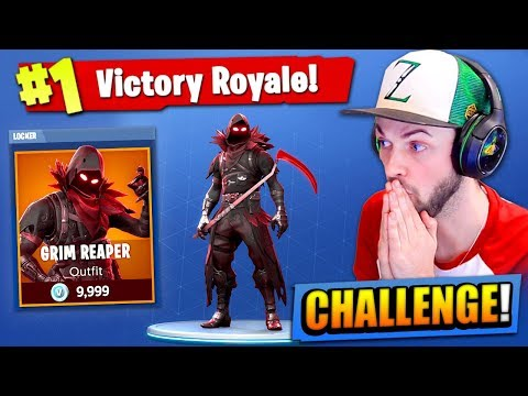 The GRIM REAPER CHALLENGE in Fortnite: Battle Royale!