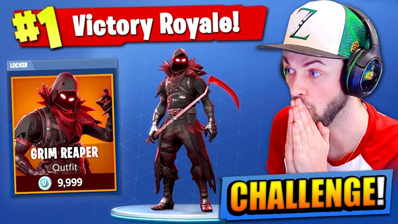 The Grim Reaper Challenge In Fortnite Battle Royale
