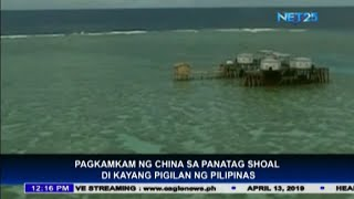 Philippine cannot stop China from taking the Panatag Shoals - Ambassador Cuisia