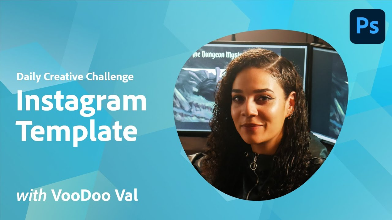 Photoshop Daily Creative Challenge - Instagram Template