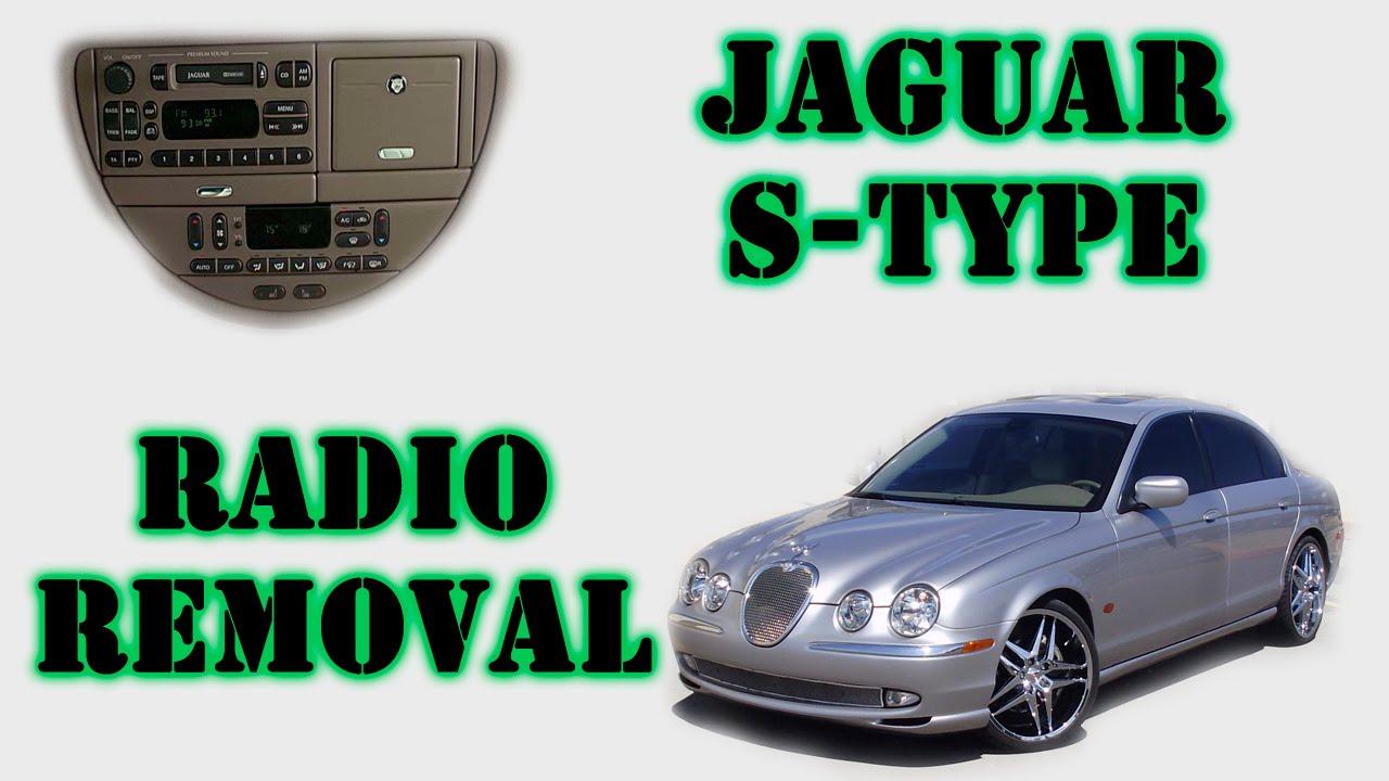 Jaguar S Type Half Moon Radio Removal Youtube X Wiring Harness