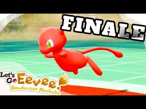 THE FINALE! - Pokémon: Let's Go, Eevee! RANDOMIZER NUZLOCKE Part 34!