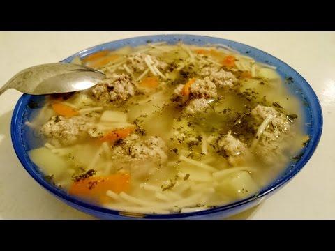 как готовить суп видео