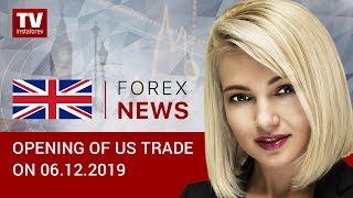 InstaForex tv news: 06.12 .2019:  USD perks up amid robust employment (USDX, USD/CAD)