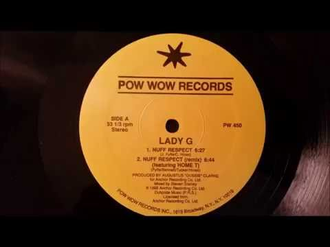 "Lady G - Nuff Respect - Pow Pow 12"" w/ Version (Rumors Riddim)"