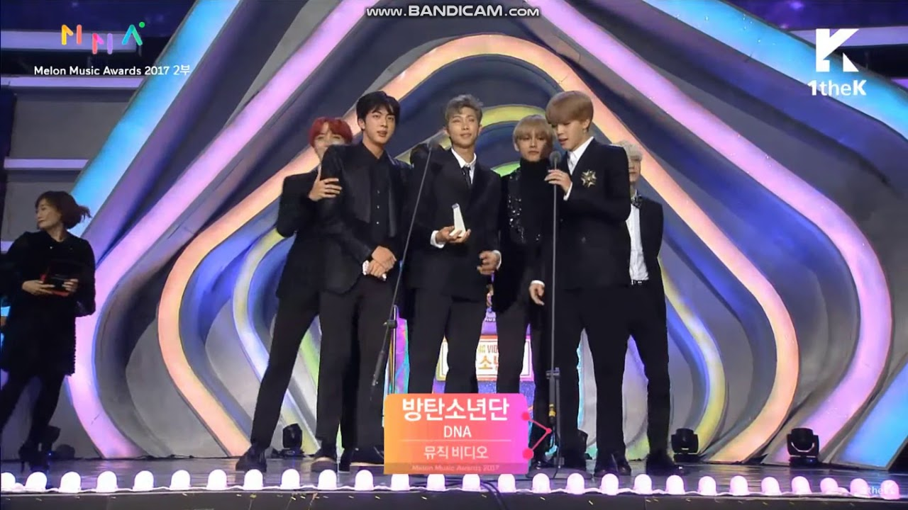 Bts Win Best Music Video Award  Melon Music Award