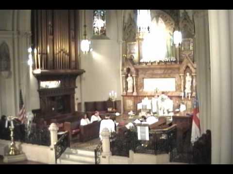 Kyrie eleison, Missa Aeterna Christi munera by Palestrina - Corpus Christi 2011 @ St. John's Detroit