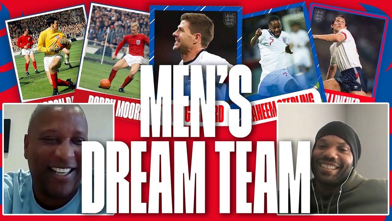 Gary Lineker or Michael Owen? | Joleon Lescott & Viv Anderson Pick Their England Men's Dream Team