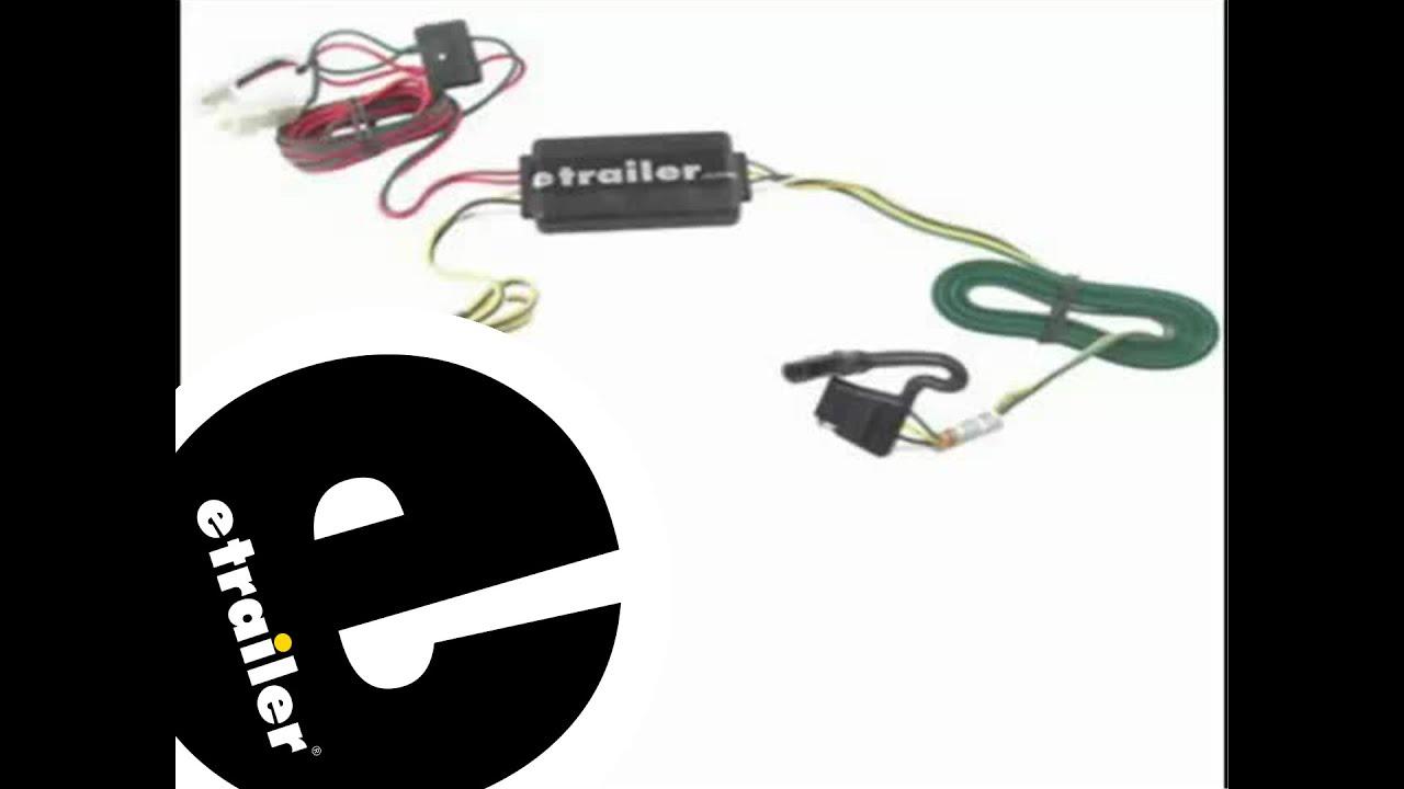 hight resolution of trailer wiring harness installation 2011 hyundai santa fe etrailer com