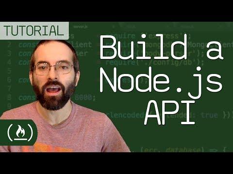 Build a Node.js API