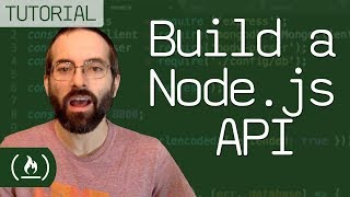 Build a Node.js API - tutorial