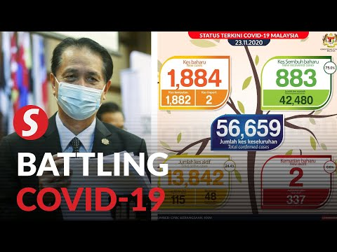 Malaysia Records Highest Ever Covid-19 Daily Tally At 1,884 Cases