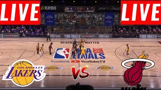 [LIVE] Los Angeles Lakers vs Miami Heat Full Game | Game 3 NBA Finals | NBA Playoffs 2020