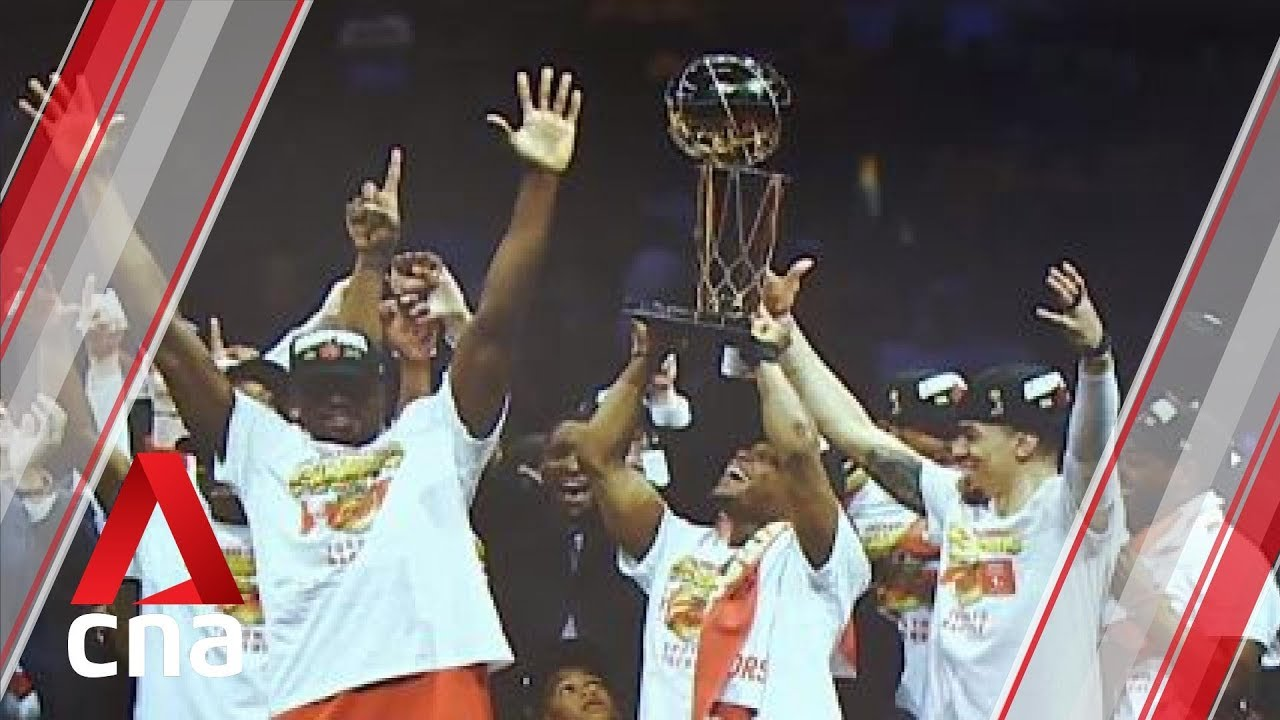 Toronto Raptors win Canada's first NBA championship
