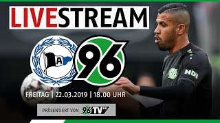 RE-LIVE: Arminia Bielefeld vs. Hannover 96