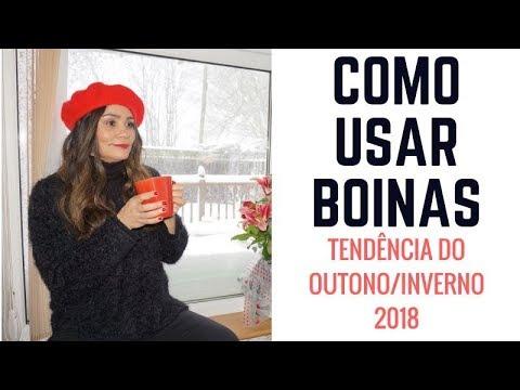 b50f53dc08 COMO USAR BOINAS-TENDÊNCIA INVERNO 2018 - YouTube