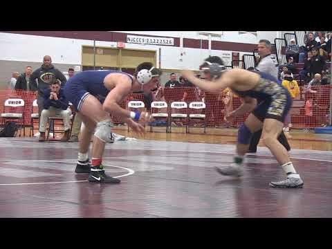 John Poznanski of Colonia wins Region 4 160 pound title