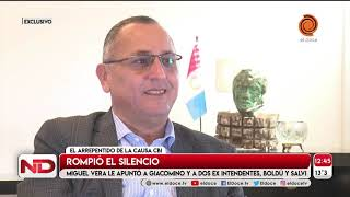 """El arreprentido cordobés de la causa CBI: """"Giacomino también debió ser investigado"""""""