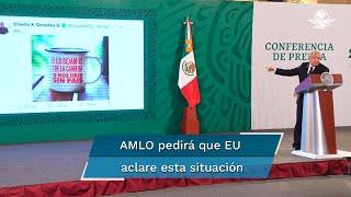 """El presidente López Obrador señaló que un gobierno extranjero no puede entregar dinero a grupos políticos de otro país; """"es un acto de intervencionismo que viola nuestra soberanía"""", dijo"""