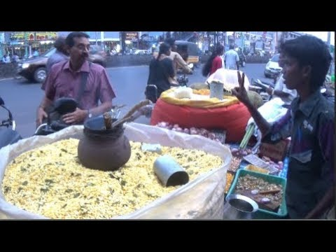 Vellore Special Mixed Masala Muri (Puffed Rice) - (Part - 1), Tamil Nadu | Street Foods of India