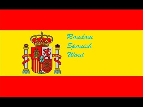 Random Spanish Word Monday