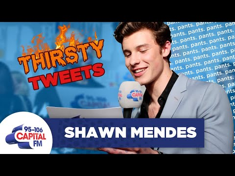 Shawn Mendes Reads Thirsty Tweets About THAT Underwear Shoot 🔥 | FULL INTERVIEW