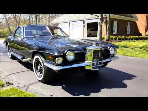 Stutz Blackhawk - Black/Red, 48,000 Miles - Seven HIlls Motorcars