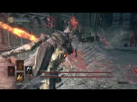 Soul Level 1 No Rolling/Blocking/Parry - Twin Princes (Flawless)
