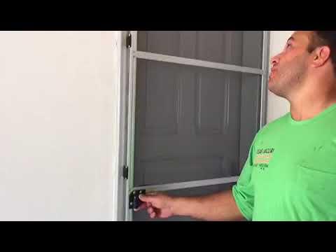 Porta mosquiteira