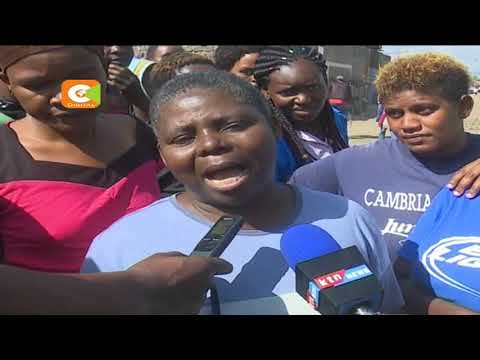 Police arrest a woman for neglecting her 2 children in Nakuru