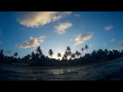 Mayaro Beach, Trinidad and Tobago Sunset from the Atlantic Ocean