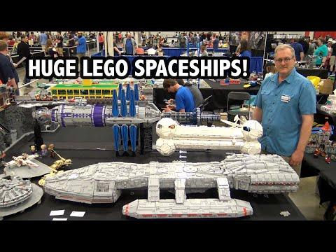 giant-lego-sci-fi-spaceships:-battlestar-galactica-+-babylon-5-+-mystery-science-theater