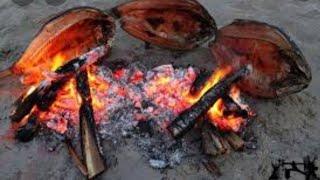 صيد سمك الخشني ابو خريزه والطبخ  على الجمر  اكلات عراقيه روعه ينصح بلمشاهده