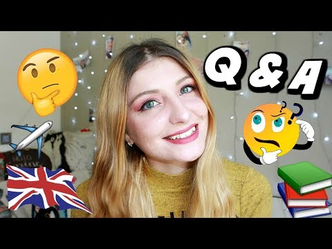 Moving abroad, the reality of being a Psychology Graduate, My inspirations | Q&A | KezziesCorner