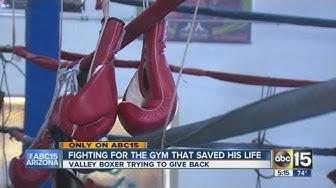 Phoenix boxing gym shutting down