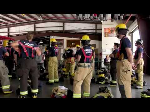 'Training For The Engine' Palm Beach State College Fire Academy Documentary