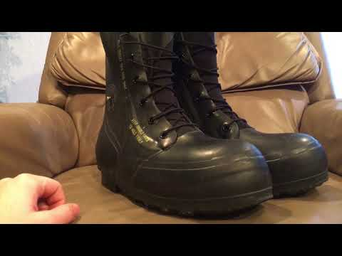 """Us Extreme Cold """"mickey Mouse"""" Boots"""