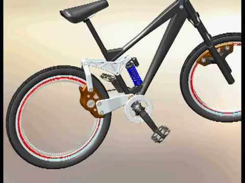 2f8cd31ea42 Hubless Mountain Bike version 2 - YouTube