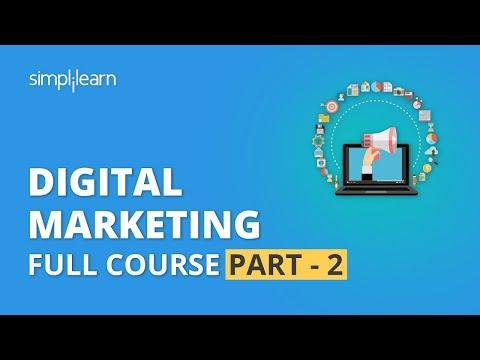 Digital Marketing Course Part - 2 🔥 | Digital Marketing Tutorial For Beginners | Simplilearn
