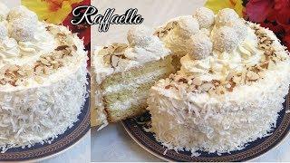 TORT RAFFAELLO ТОРТ РАФАЭЛЛО RAFFAELLO CAKE RECIPE