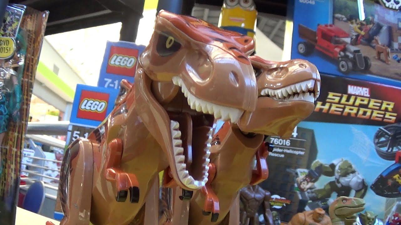 Lego y playmobil juguetes y dinosaurios youtube for Playmobil dinosaurios