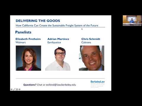 Delivering the Goods: Sustainable Freight Webinar