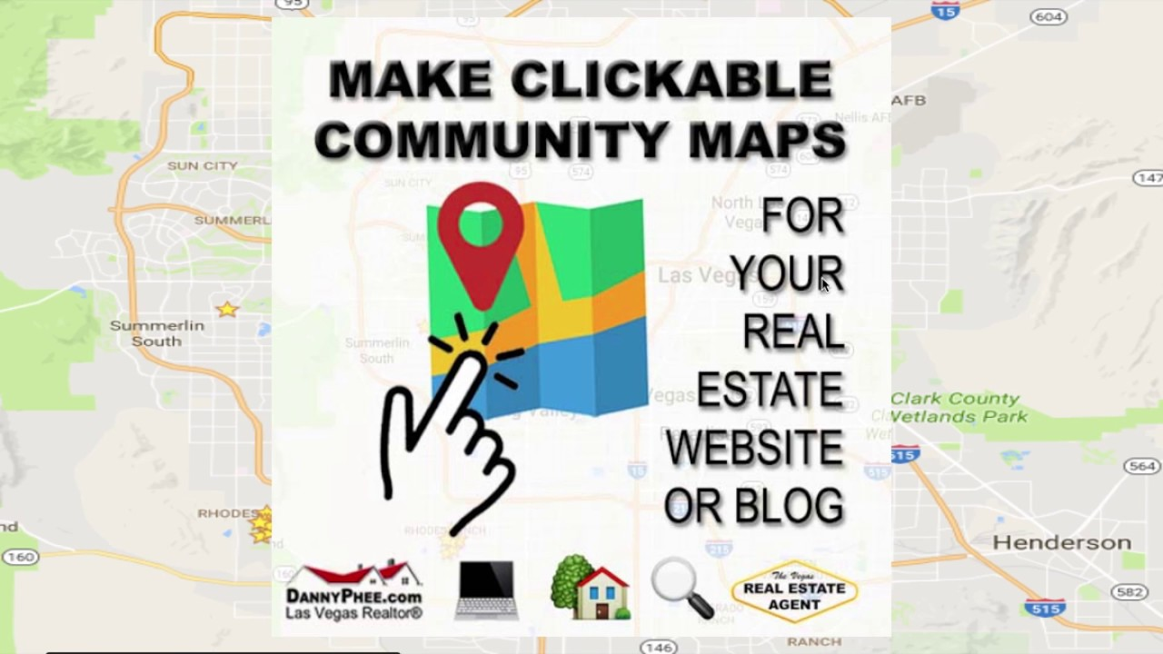 How To Make A Clickable Map For Your Real Estate Website Or Blog - How to add clickable us map to webpage